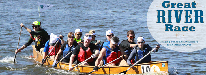 The Great River Race held annually on the Mississippi by WIlderness Inquiry and sponsors