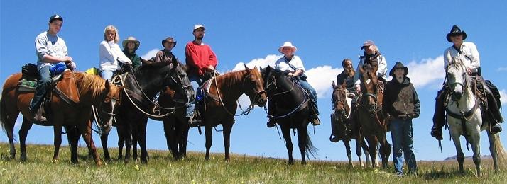 Horse-pack trip in the Colorado Rockies