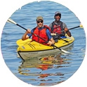 Sea kayaking in the Apostle Islands