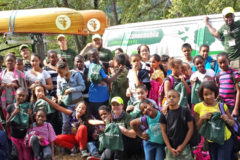 Canoemobile. Harlem River: Building Community Connections in the Bronx