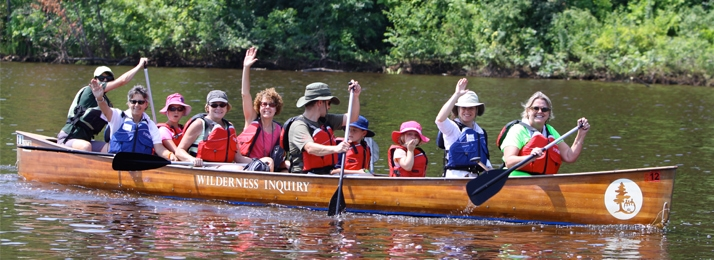 Paddle with explorer Ann Bancroft on the Mississippi River
