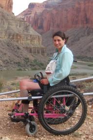 Mary at Grand Canyon