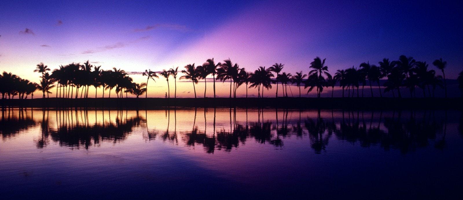 Coastline of the Big Island of Hawaii