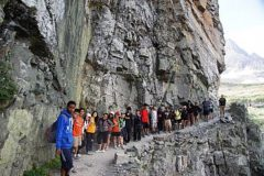 AVID a college readiness system teamed up with Wilderness Inquiry and takes students to Glacier National Park