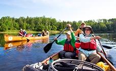 Voyageur Canoe