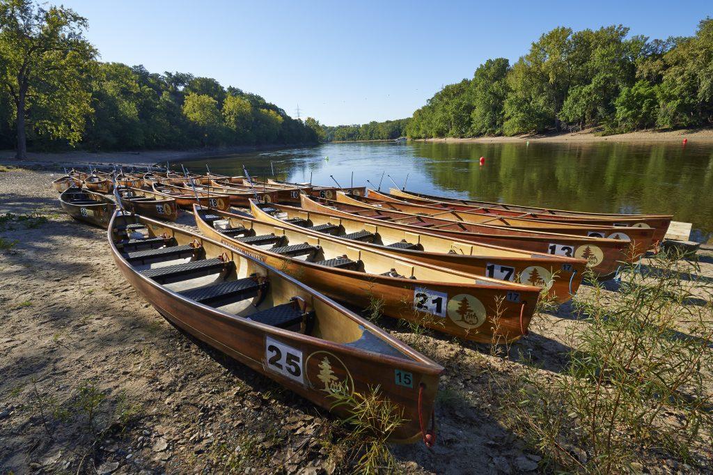 Voyageur Canoes
