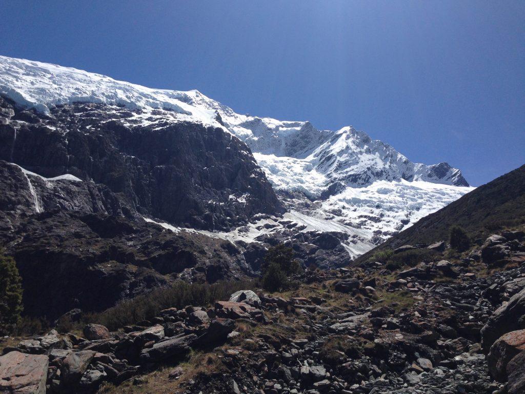 The Rob Roy Glacier