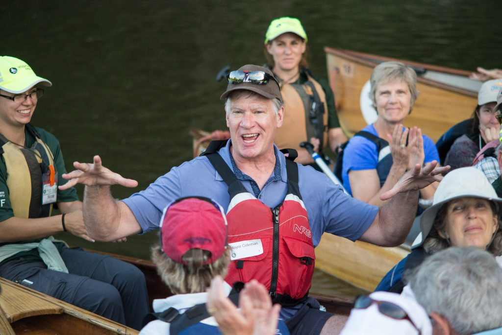 St. Paul Mayor Chris Coleman shares stories about how Wilderness Inquiry changes lives