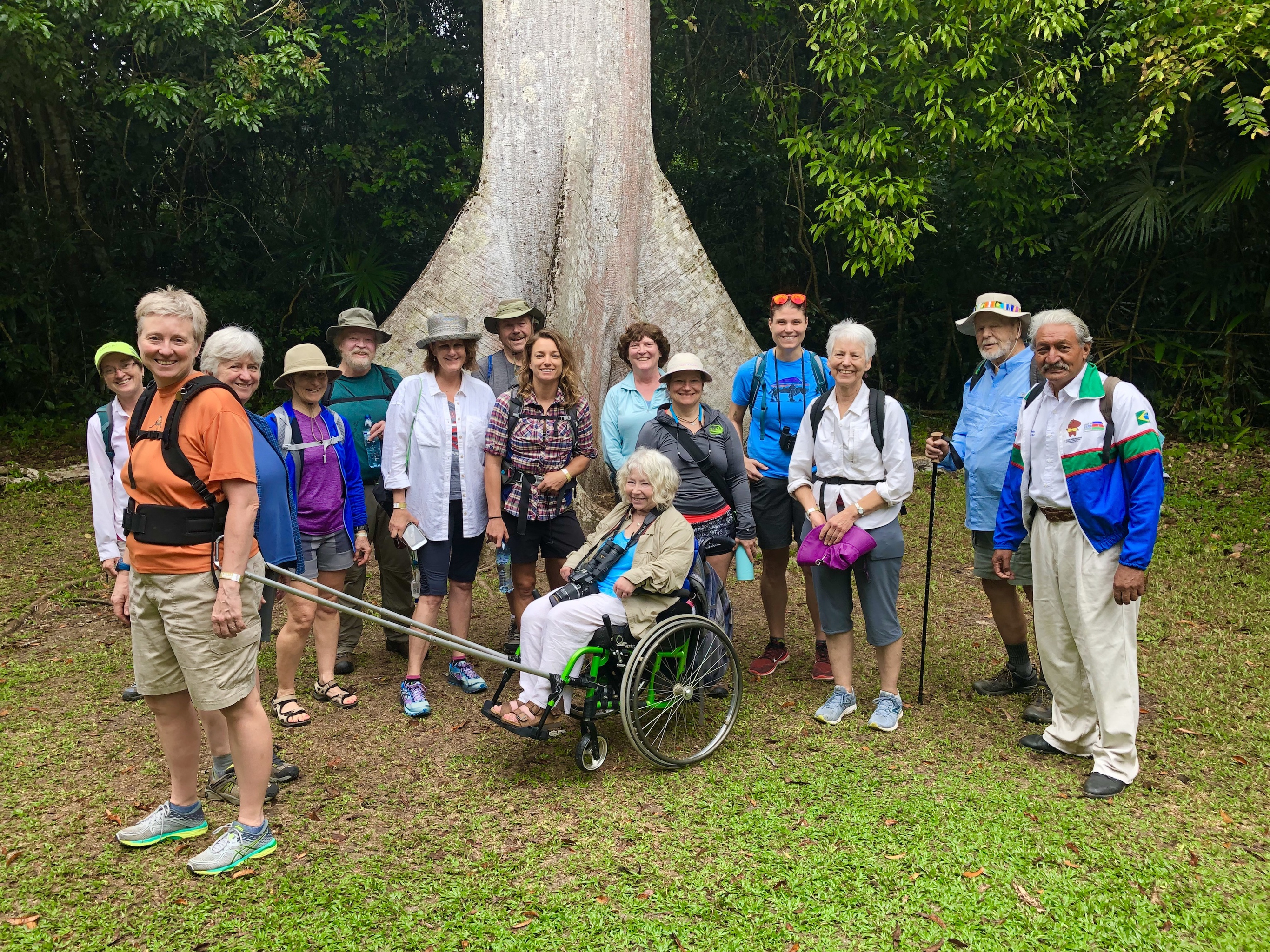 Inclusive group adventure to Belize and Tikal