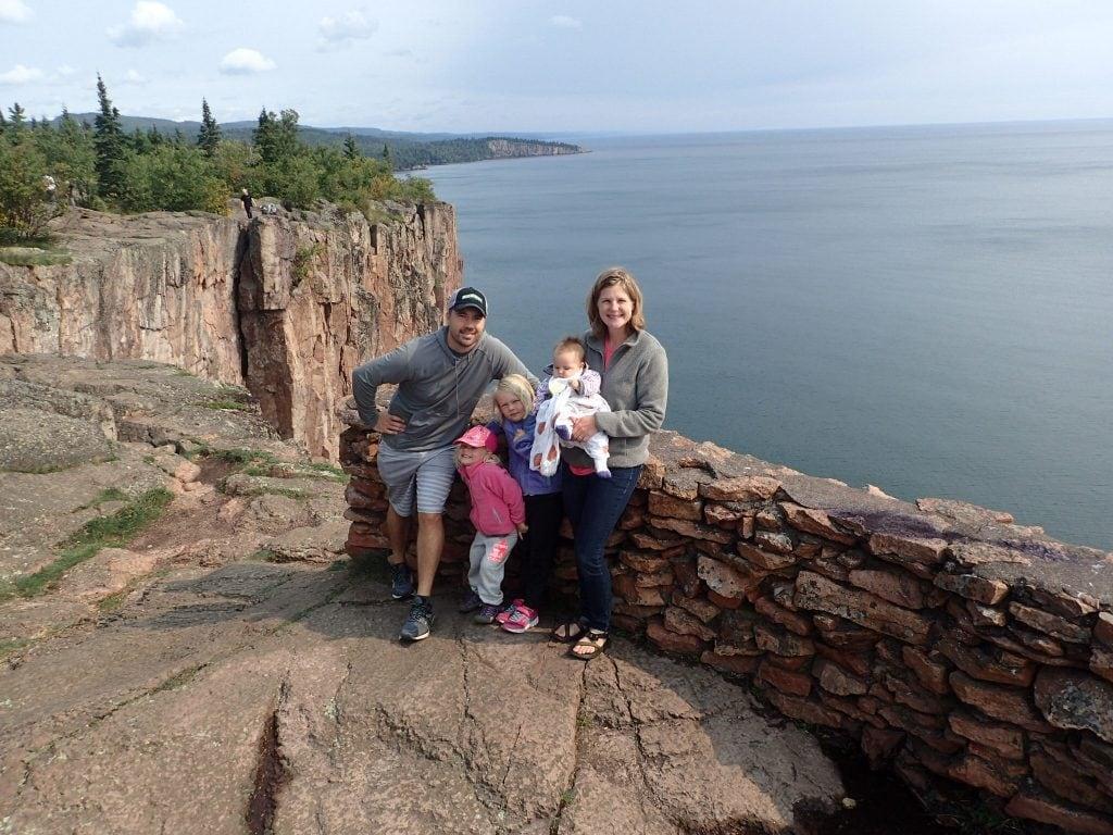 Walz Family at Palisade Head