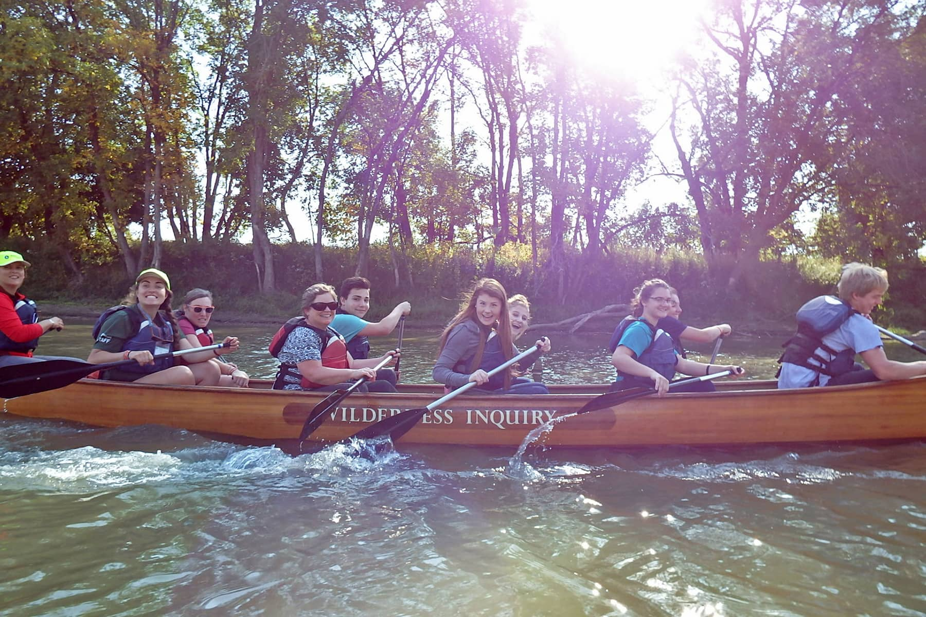 Paddlers enjoy getting out on the water in East Grand Forks