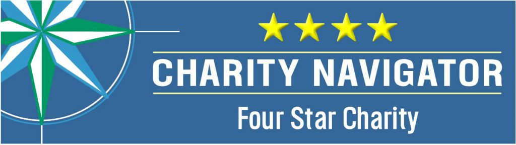 Charity Navigator 4-Star Rating