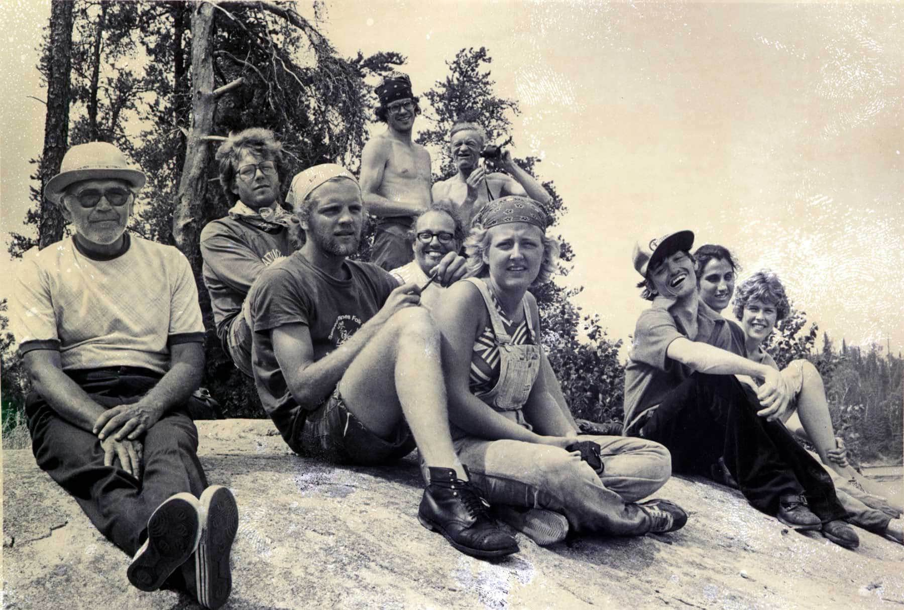 Wilderness Inquiry in 1979