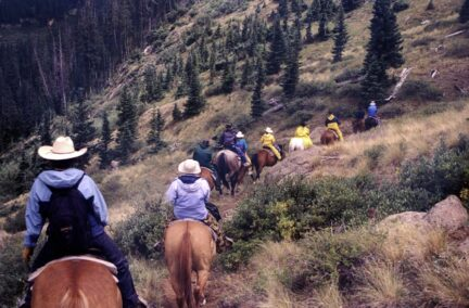 Decades in the Wilderness - Colorado Horsepack Trip