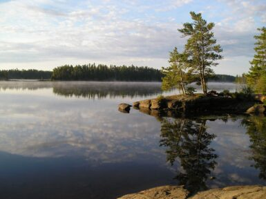 Decades in the Wilderness - Misty morning in the Boundary Waters