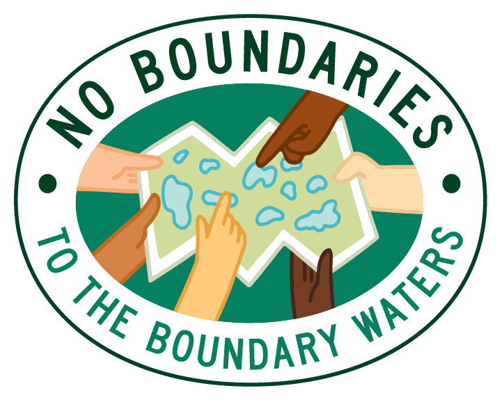 No Boundaries to the Boundary Waters logo