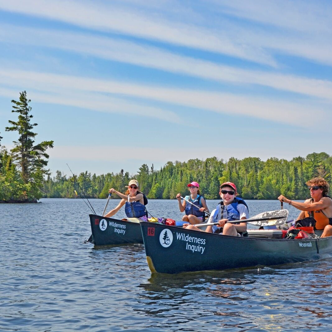 Boundary Waters Family