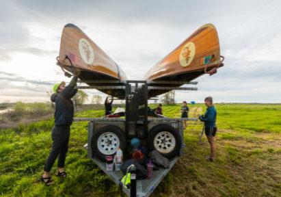 Droping Canoes at Galt_ Photo 3