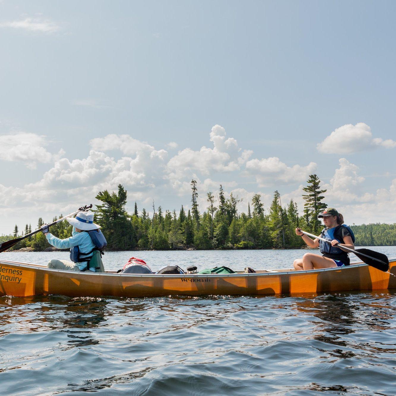 Boundary Waters, BWCA, canoe, paddle