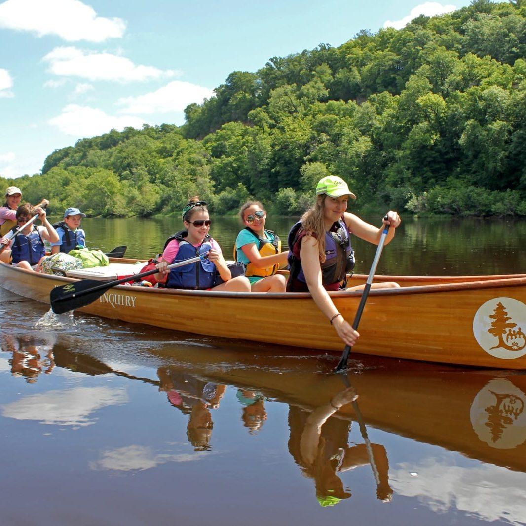 St. Croix canoeing